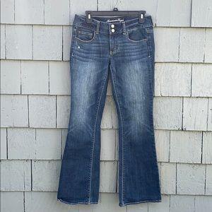 Denim - American Eagle , blue Jeans, bootcut, size